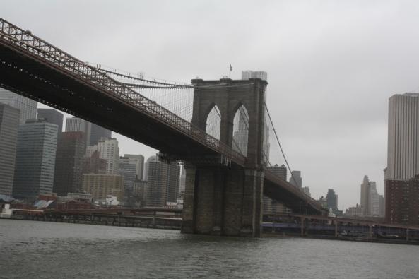 Brooklyn Bridge, New York, NY., 10th March 2011. © J. Lynn Stapleton