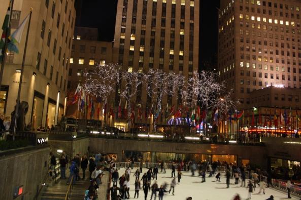 Rockefeller Center, New York, NY, 12th March 2011. © J. Lynn Stapleton