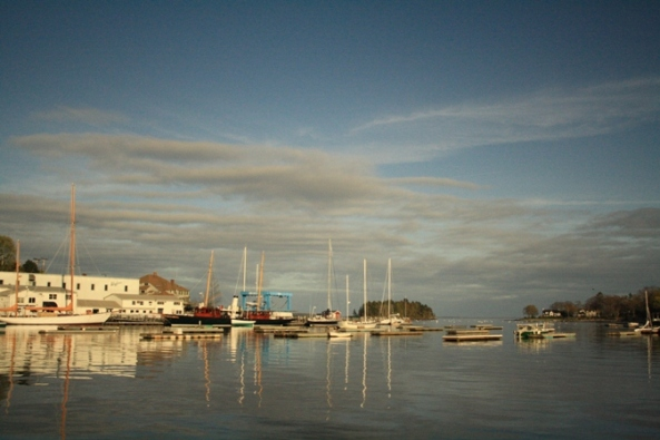 Camden Harbor, Camden, ME. 12th May 2011. © J. Lynn Stapleton