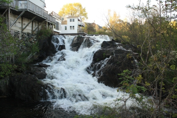 Falls side view