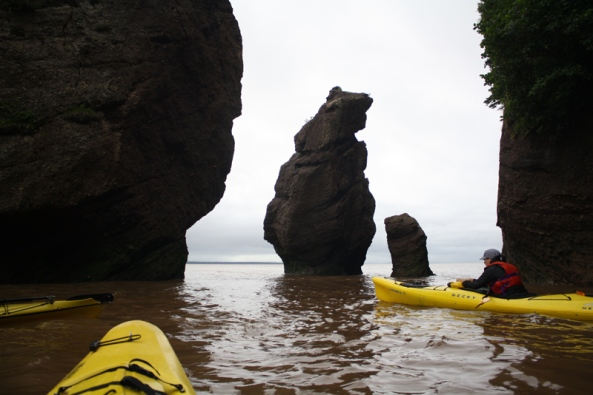 Sea Kayaking on the Bay of Fundy, 9th August 2011, © J. Lynn Stapleton