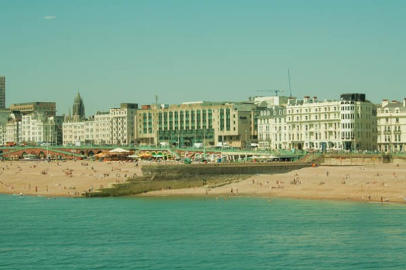 Brighton Beach, Brighton, UK. © J. Lynn Stapleton, 19th July 2013