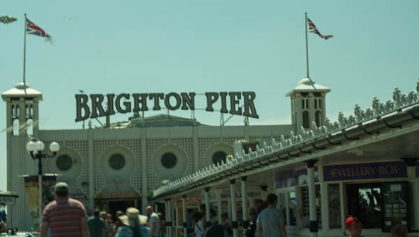 Brighton Pier, Brighton, UK  © J. L. Stapleton. 18th March 2013