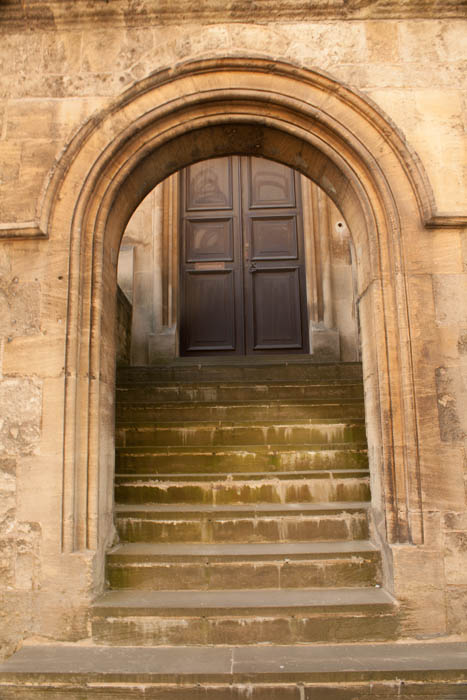 Arched Doorway, Museum of the History of Science. © J. Lynn Stapleton, 21st  July 2013