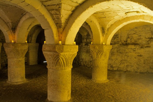 Oxford Castle Crypt, Oxford Unlocked. © J. Lynn Stapleton, 22nd July 2013
