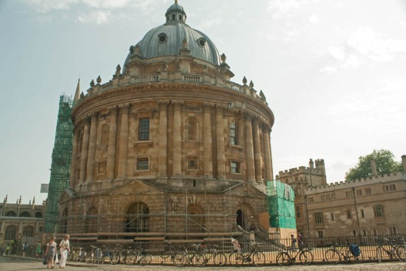 Radcliffe Camera, Oxford. © J. Lynn Stapleton, 22nd July 2013