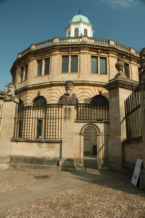 Sheldonian Theatre, Oxford. © J. Lynn Stapleton, 22nd July 2013