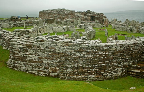 Broch of Gurness, Orkney mainland. © J. Lynn Stapleton, 28th July 2013