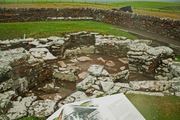 A Pictish Farm, Broch of Gurness, Orkney Mainland. © J. Lynn Stapleton, 28th July 2013