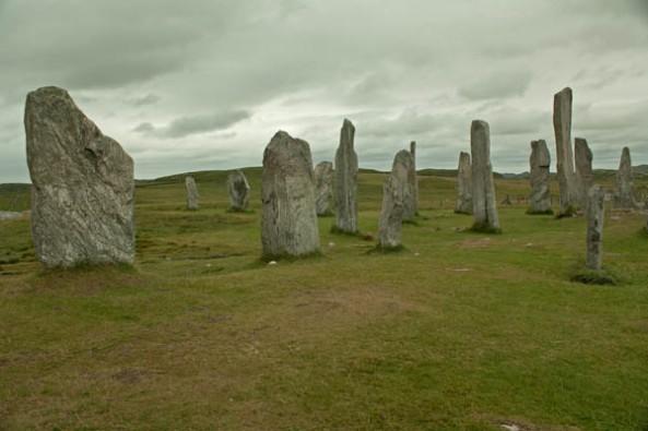 Calanais Standing Stones, Calanais, Isle of Lewis. ©  J. Lynn Stapleton, 1st August 2013
