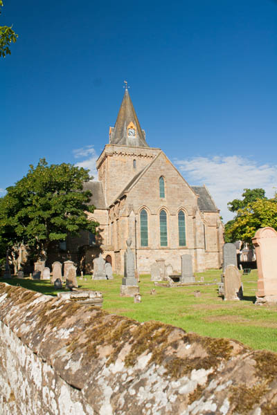 Dornoch Cathedral, Dornoch, UK. © J. Lynn Stapleton, 27th July 2013