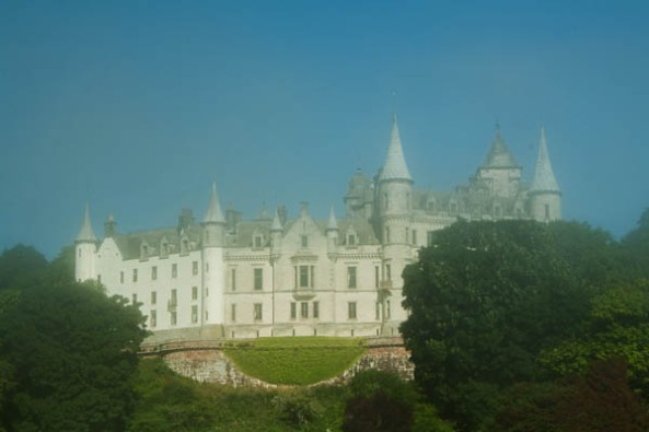 Dunrobin Castle, Golspie, Sutherland, UK. © J. Lynn Stapleton, 27th July 2013