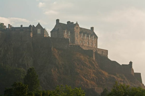 Edinburgh Castle, Edinburgh, UK. © J. Lynn Stapleton, 25th July 2013