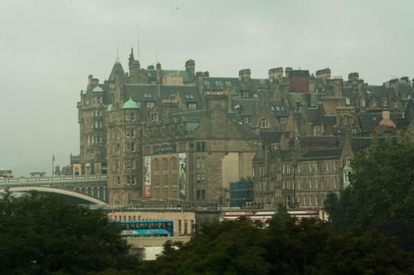 Old City, Edinburgh, UK. © J. Lynn Stapleton, 25th July 2013
