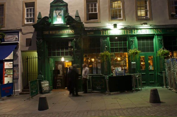White Hart Inn Pub, Edinburgh, UK. © J. Lynn Stapleton, 25th July 2013