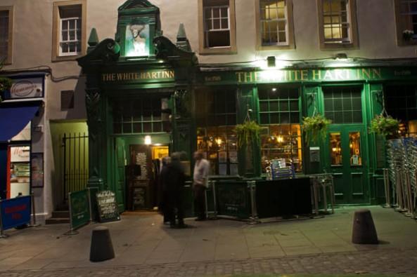 White Hart Inn Pub, Edinburgh, UK. © J. Lynn Stapleton, 25th July 2013