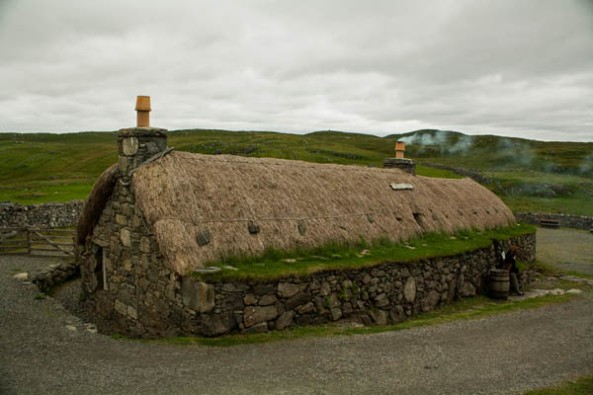 Gearrannan Blackhouse Village, Carloway, Isle of Lewis. © J. Lynn Stapleton, 1st August 2013