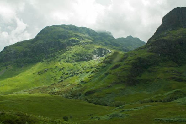 Glencoe, UK. © J. Lynn Stapleton, 26th July 2013