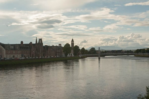 Inverness, Highland, UK © J. Lynn Stapleton, 26th July 2013