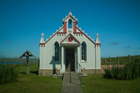 Italian Chapel, Lamb Holm, Orkney. © J. Lynn Stapleton, 27th July 2013