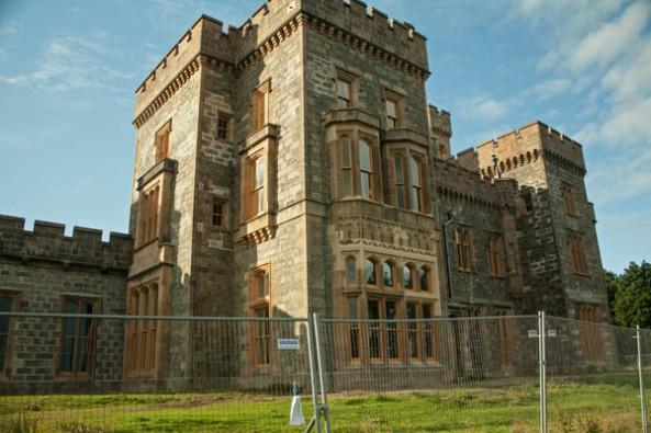 Lewis Castle, Stornoway, Isle of Lewis. © J. Lynn Stapleton, 31st July 2013