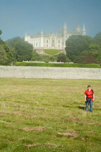 Me at Dunrobin Castle, Golspie, Sutherland, UK. © J. Lynn Stapleton, 27th July 2013