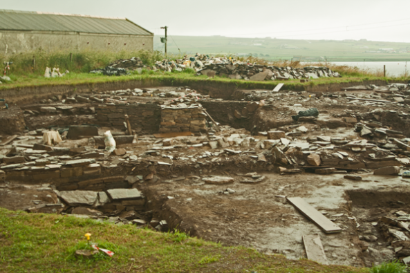 Ness of Brodgar, Orkney mainland. © J. Lynn Stapleton, 28th July 2013