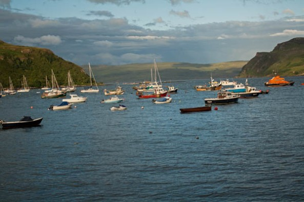 Portree Harbour, Portree, Isle of Skye, Scotland. ©  J. Lynn Stapleton, 2nd August 2013