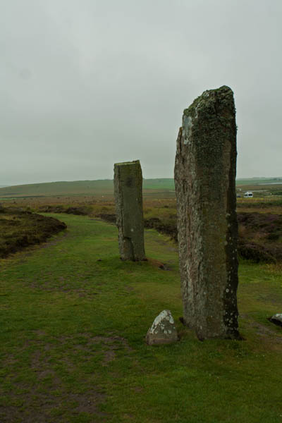 Ring of Brodgar, Orkney mainland. ©  J. Lynn Stapleton, 28th July 2013