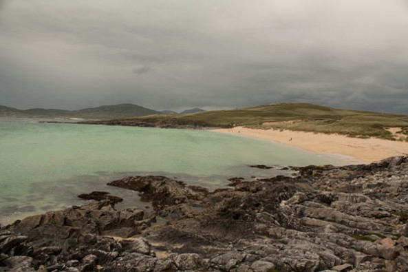 Seilebost Beach, Harris, Scotland. © J. Lynn Stapleton, 2nd August 2013