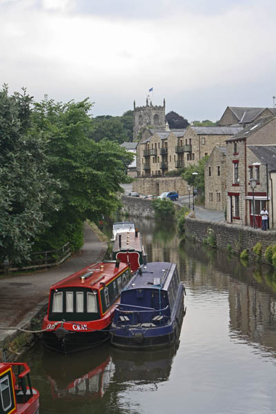 Canal waterfront, Skipton. © J. Lynn Stapleton, 23rd July 2013