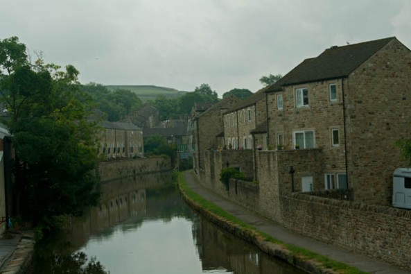 Another section of the Canal, Skipton, UK. © J. Lynn Stapleton, 24th July 2013
