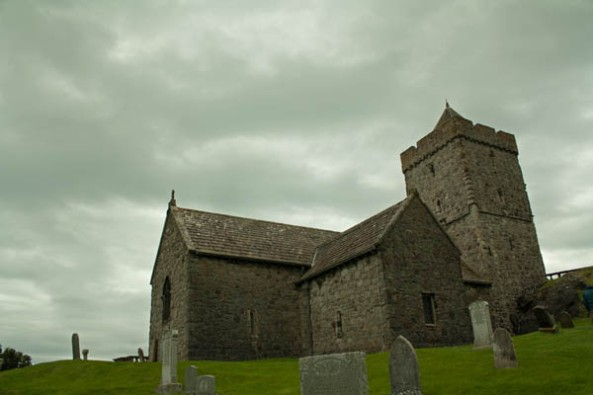 St. Clement's Church, Rodel, Harris, Scotland. © J. Lynn Stapleton, 2nd August 2013