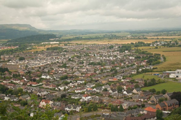 Stirling, UK. © J. Lynn Stapleton, 26th July 2013