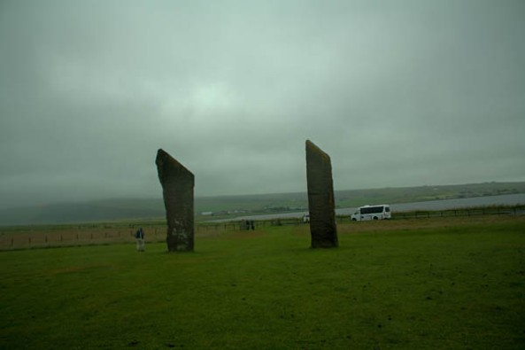 Stones of Stenness, Orkney mainland. ©  J. Lynn Stapleton, 28th July 2013