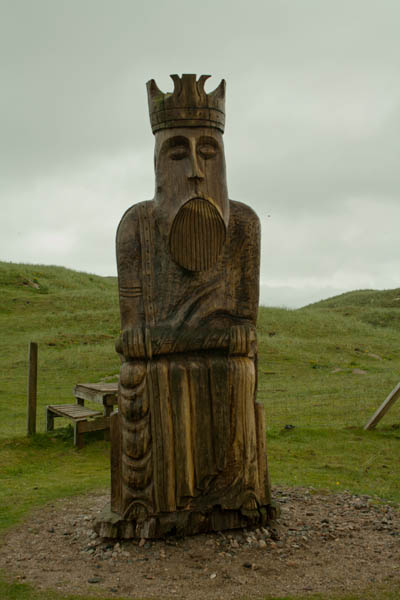 The King, Uig Chessmen, Uig, Isle of Lewis. © J. Lynn Stapleton, 1st August 2013