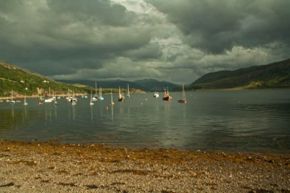 Ullapool, Highlands, UK. © J. Lynn Stapleton, 30th July 2013
