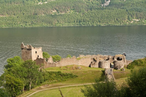 Urquhart Castle, © J. Lynn Stapleton, 26th July 2013