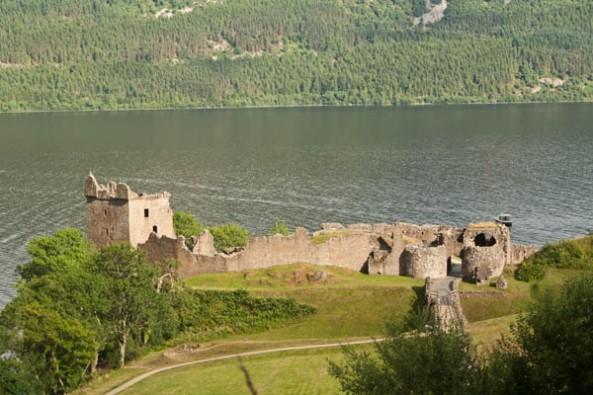 Urquhart Castle, © J. Lynn Stapleton, 26th July 2013