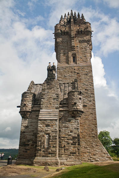 Wallace Monument, Stirling, UK. © J. Lynn Stapleton, 26th July 2013