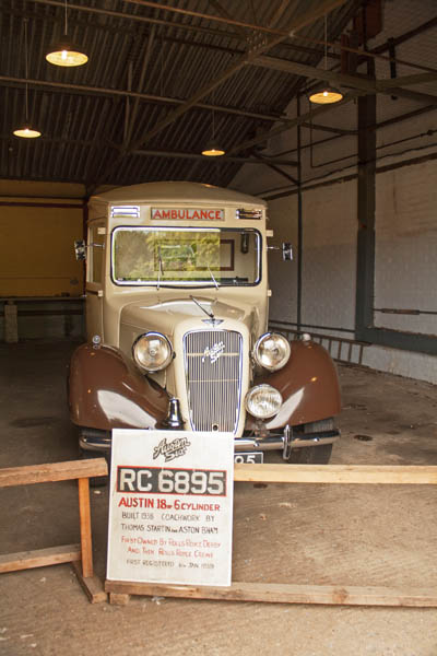 Austin Ambulance, Bletchley Park Museum, Milton-Keynes, UK. © J. Lynn Stapleton, 6th August 2013