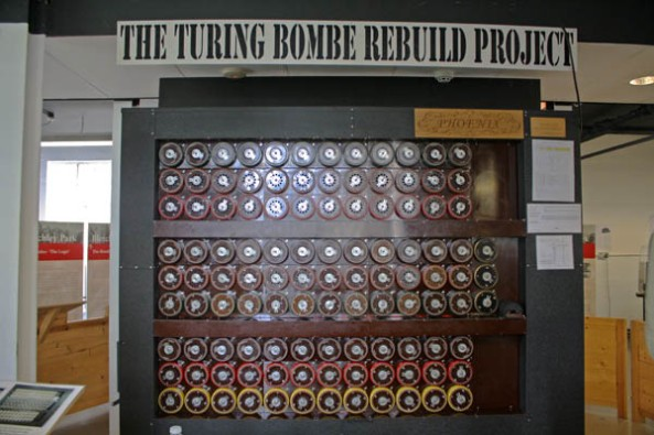The Turing Bombe Rebuild Project, Bletchley Park Museum, Milton-Keynes, UK © J. Lynn Stapleton, 6th August 2013