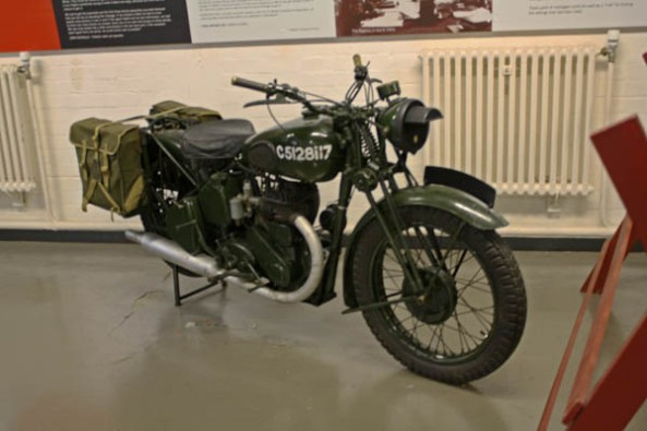 Messenger Bike, Bletchley Park Museum, Milton-Keynes, UK. © J. Lynn Stapleton, 6th August 2013