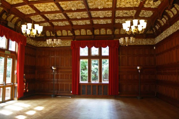 The Ballroom, Bletchley Park Mansion, Milton Keynes, UK. © J. Lynn Stapleton, 6th August 2013
