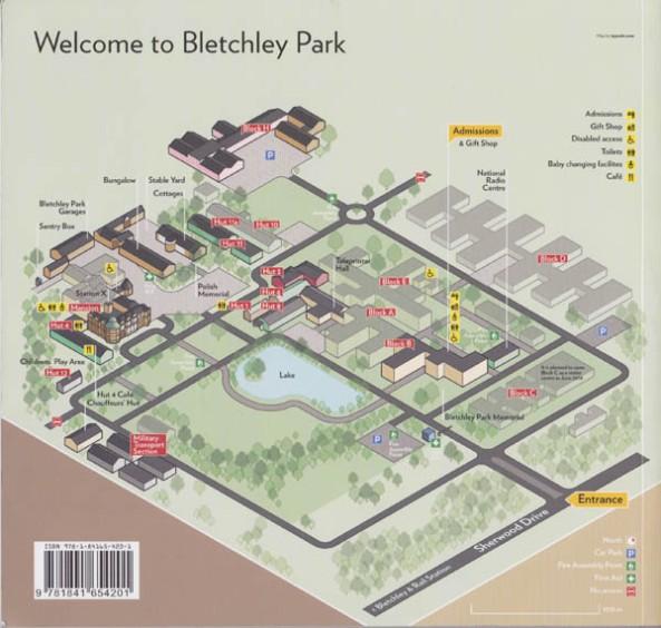 Bletchley Park Museum Map, © Bletchley Park Museum