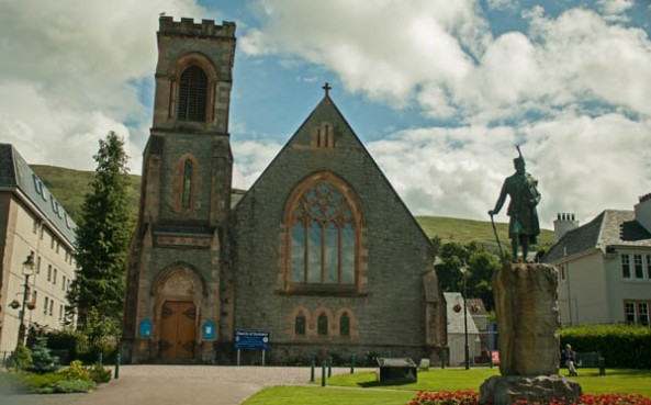 Duncansburgh MacIntosh Parish, Church of Scotland, Fort William, Scotland. © J. Lynn Stapleton, 4th August, 2013
