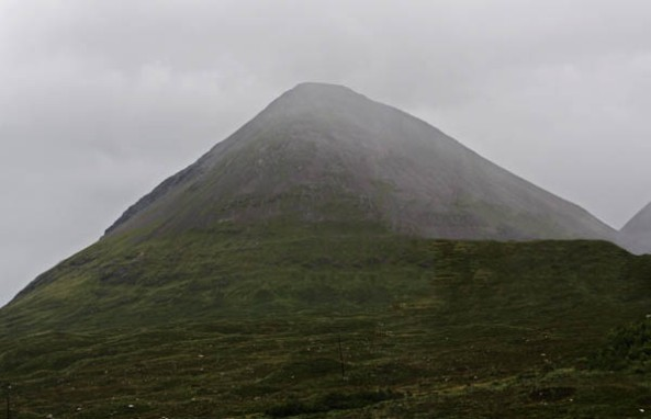 The Cuillins, Sligachan, Isle of Skye. © J. Lynn Stapleton, 3rd August 2013