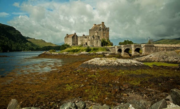 Eilean Donan Castle, Dornie, Kyle of Lochalsh, Scotland. © J. Lynn Stapleton, 4th August, 2013