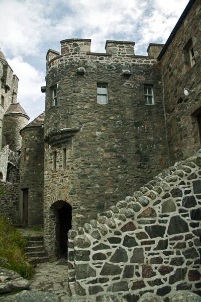 Eilean Donan Castle, Dornie, Kyle of Lochalsh, Scotland. © J. Lynn Stapleton, 4th August, 2013
