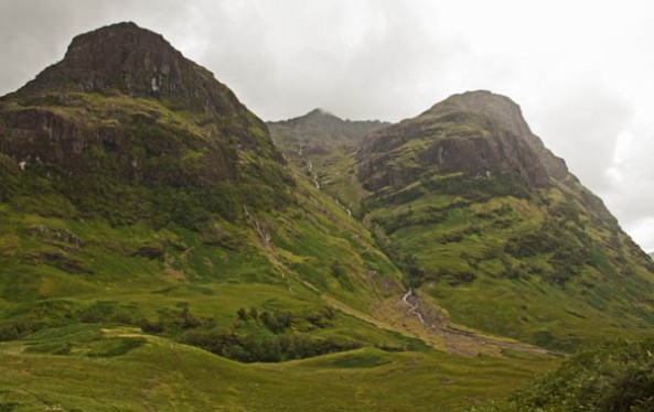 Glencoe, Highlands, Scotland. © J. Lynn Stapleton, 4th August, 2013